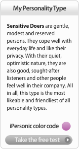 Take the free personality test!