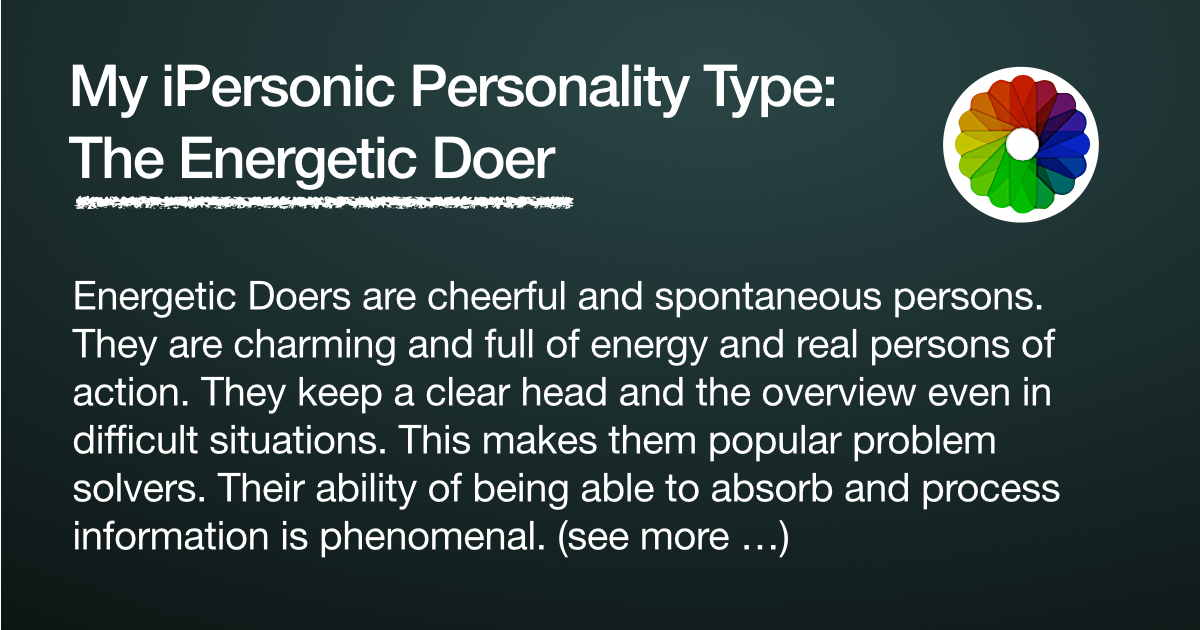 how to develop an energetic personality